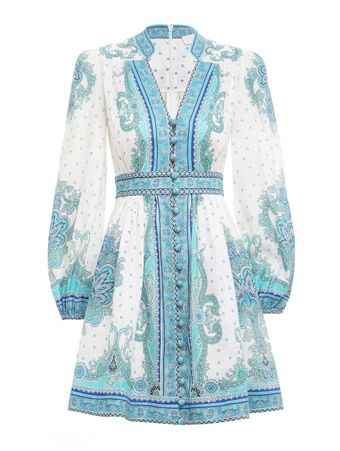 VESTIDO-CURTO-BELLS-PAISLEY-SHORT-DRESS-BLUE-PAISLEY