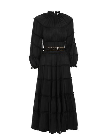 VESTIDO-LONGO-SILK-TIERED-MIDI-DRESS-BLACK