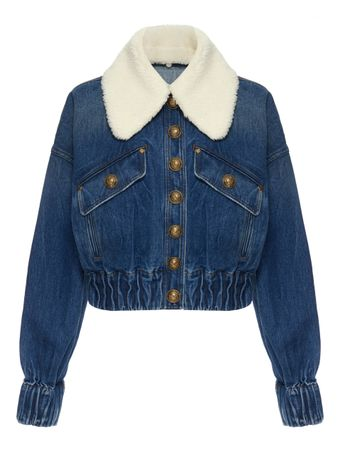 JAQUETA-BUTTONED-DENIM-JACKET-W--FAUX-SH-6FF-BLUE-JEAN