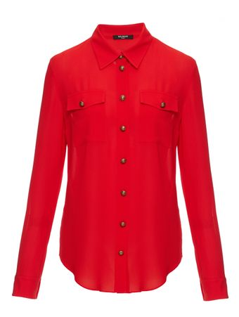 CAMISA-GEORGETTE-SHIRT-ROUGE
