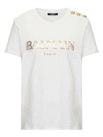 CAMISETA-SS-3-BTN-METALLIC-VINTAGE-LOGO-WHITE-OR