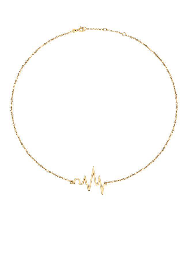 Choker-Heartbeat-de-Ouro