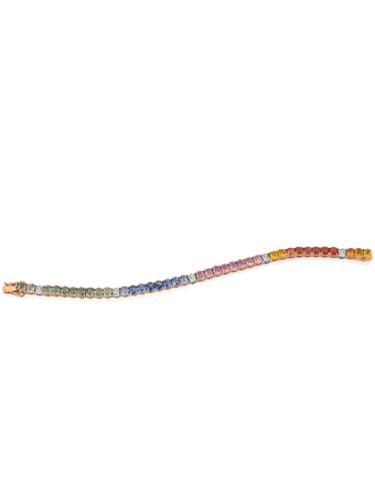 Pulseira-Riviera-Safiras-e-Diamantes-de-Ouro-Rose