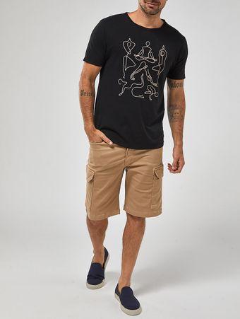 Camiseta-Yoga-Preta