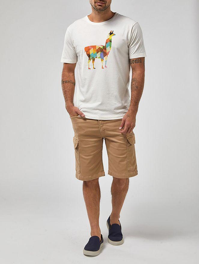 Camiseta-Lhama-Branca