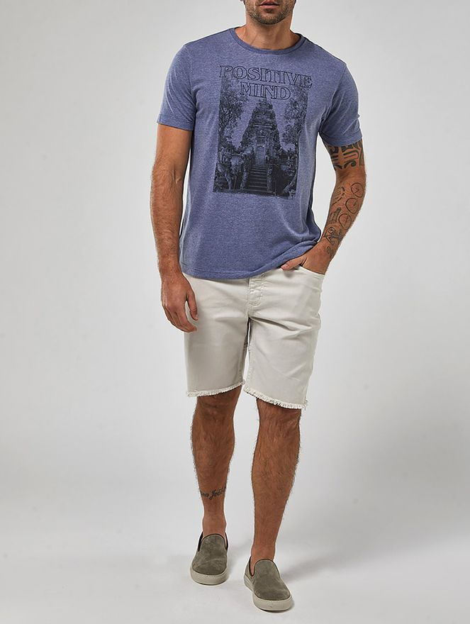 Camiseta-Positive-Mind-Azul