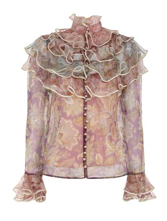 CAMISA--LUCKY-TIERED-BLOUSE-SPLICED-JACOBEAN