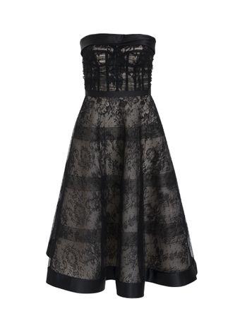 Vestido-de-Seda-Preto