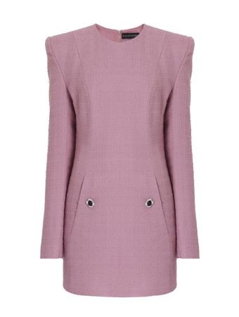 VESTIDO-CURTO-TAILORED-LONG-SLV-MINIDRE-PINK