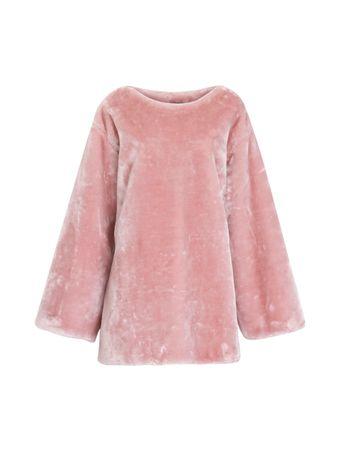 GIRLFUR---Vestido-total-pelucia---Rosa---GG-Rosa