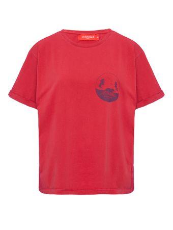 Camiseta-Manga-Curta-Vermelha