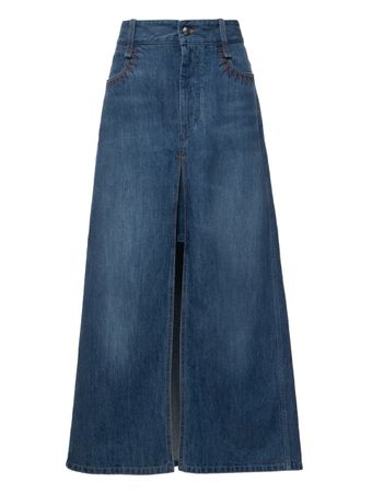 SAIA-LONGA--SKIRT-DENIM-BLUE