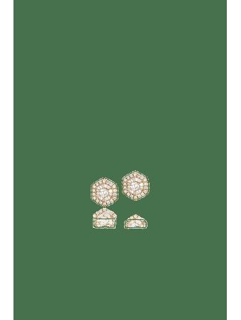 Par-de-brincos-em-ouro-amarelo-com-diamantes-Ouro
