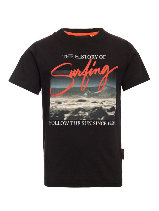 CAMISETA-MINI-ORIGINAL-HISTORY-OF-SURFI-BLACK