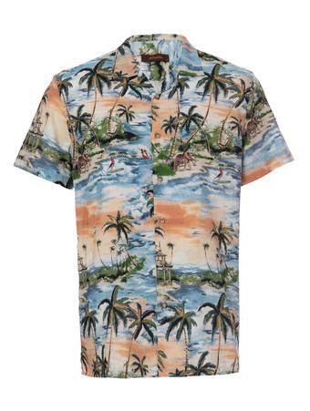 Camisa-Indonesia-Estampada