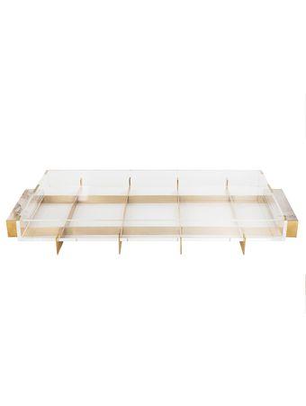 Bandeja-Float-Gold-Touch-com-Fundo-de-Acrilico