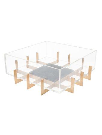 Centro-de-Mesa-Float-Quadrado-em-Acrilico-com-Marmore-Preto
