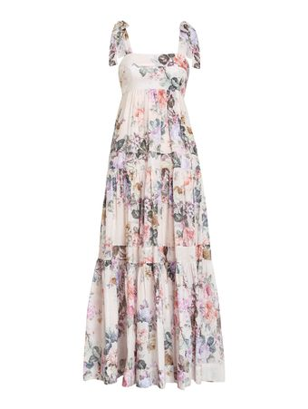 VESTIDO-LONGO-BRIGHTON-TIE-SHOULDER-DRES-ANTIQUE-FLORAL