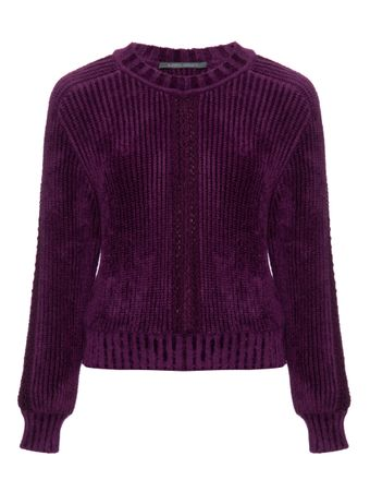 SUETER--SWEATER-VIOLET