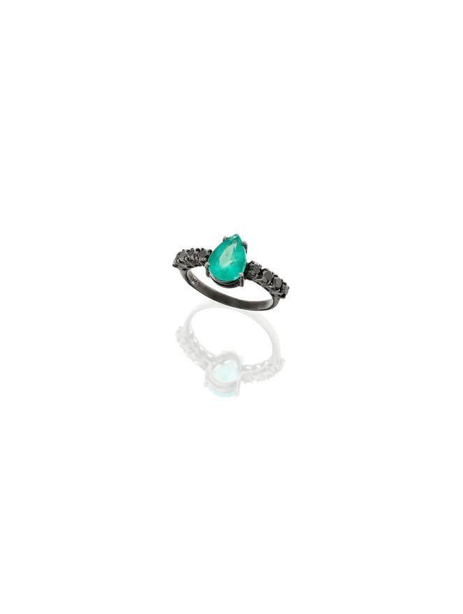 Anel-Esmeralda-e--Diamantes-Negros