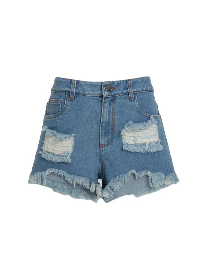 Short-Jeans-Destroyed-Azul
