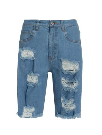 Bermuda-Jeans-Destroyed-Azul