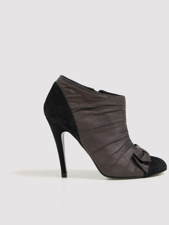 Ankle-Boot-de-Seda-Bicolor