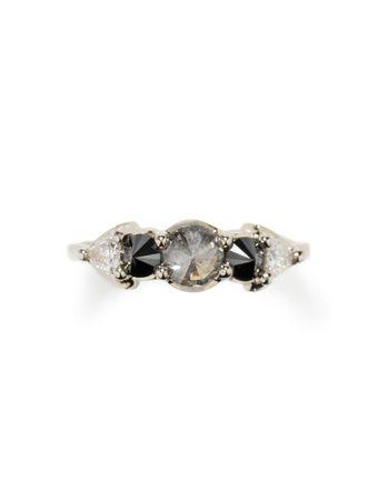 Anel-Diamantes-Negros-de-Ouro-Branco