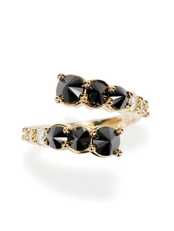 Anel-Diamantes-Negros-de-Ouro