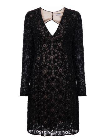 Vestido-Bordado-Preto