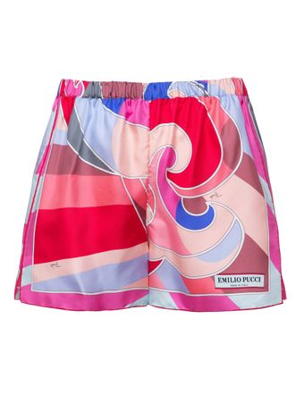 Short-Geranio-Estampado