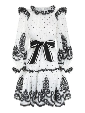 VESTIDO-CURTO-THE-LOVESTRUCK-ROPE-MINI-IVORY-BLACK