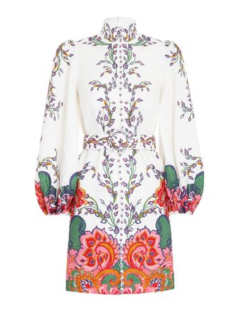 VESTIDO-CURTO-THE-LOVESTRUCK-BUTTONED-TU-NATURAL-PAISLEY-FLORAL