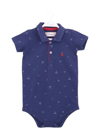 BODY-POLO-BABY-PIQUE-ESTAMAPADO-MC-AZUL-MARINHO