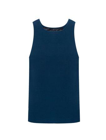 Camiseta-de-Algodao-Azul