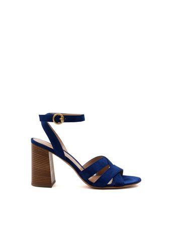 Sandalia-Camoscio-Azul
