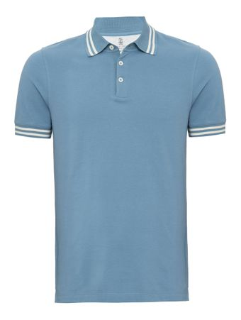 Camisa-Polo-Azul