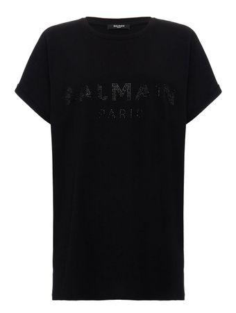 Camiseta-Strass-Preta