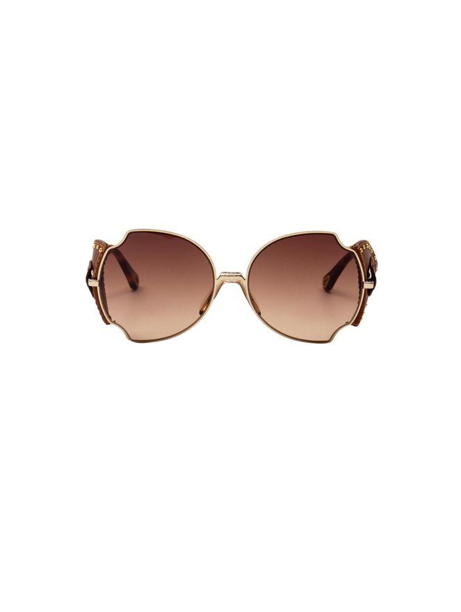 Oculos-de-Sol-Couro-Dourado