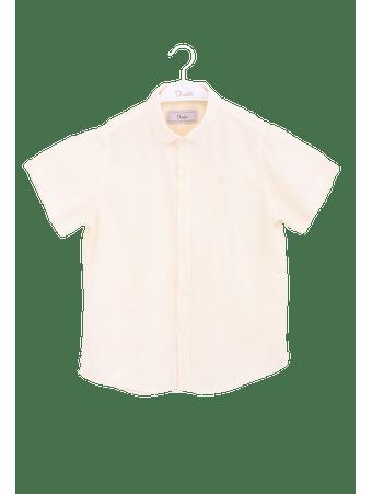 Camisa-Kids-Linho-Amarela