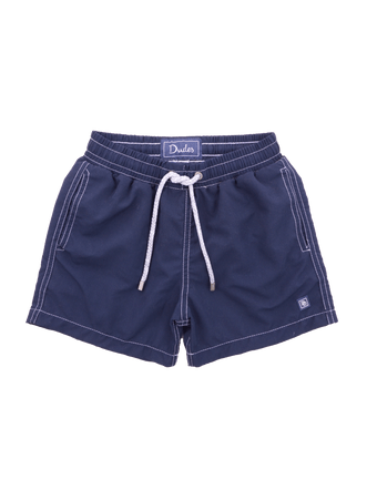 Short-Nylon-Kids-Azul