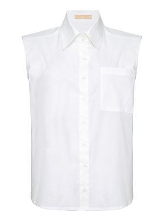 Camisa-Framboesa-Branca