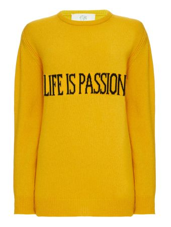 SUETER--SWEATER-FANTASY-PRINT-YELLOW