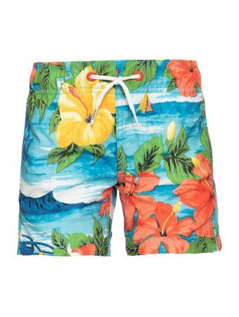 Short-de-Banho-Kids-Vintage-Floral