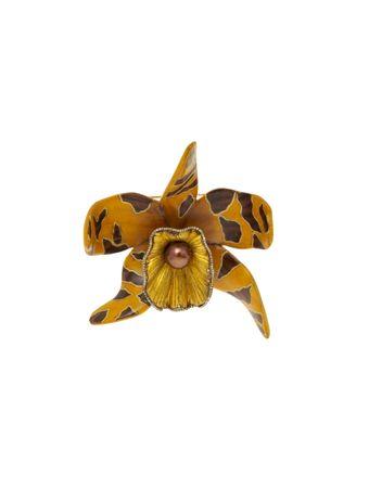 Broche-Marchetaria-Orquidea
