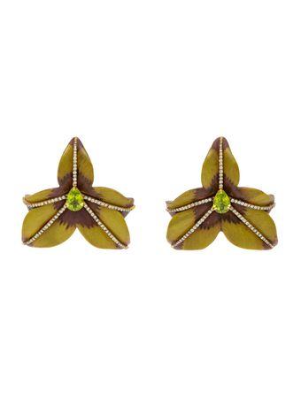 Brincos-Flor-Orquidea
