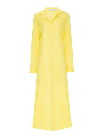 Vestido-Olho-Grego-Amarelo