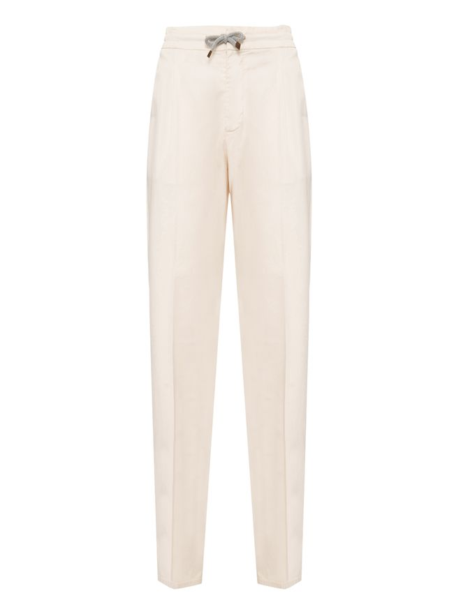 CALCA--DYED--PANTS--OFF--WHITE