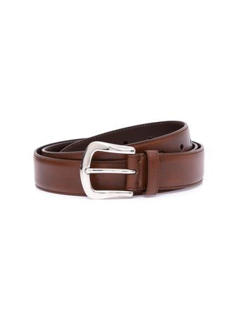CINTO--LEATHER--BELT--CAPPUCCINO