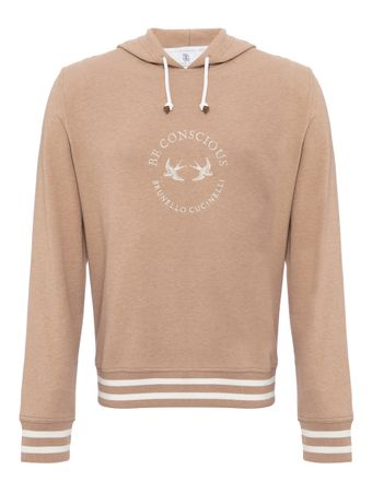 SUETER--SWEATSHIRT--AMARETTO--OFF--WHITE